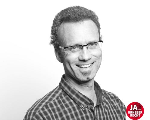 """Martin Geisenhainer sagt """"ja"""" zum Urheberrecht"""